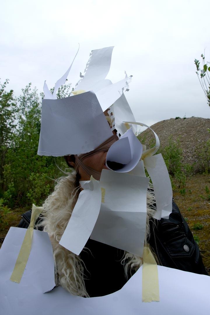 Traurige Kubistin/sad cubist I 2010