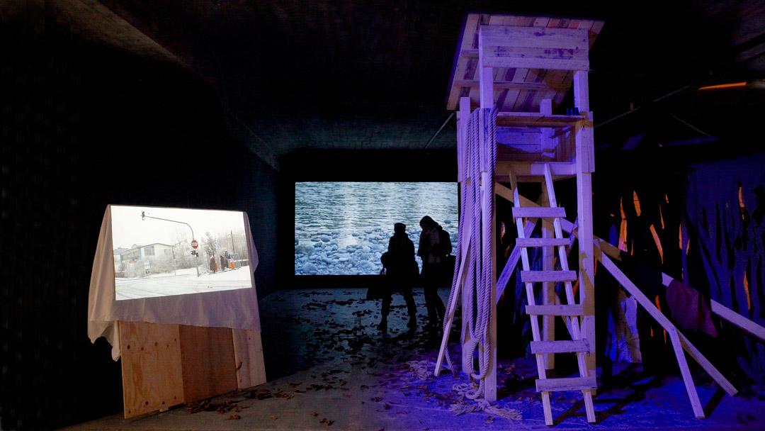 Lauschen&Lauern, installation view2, ©Barbara_Hartmann