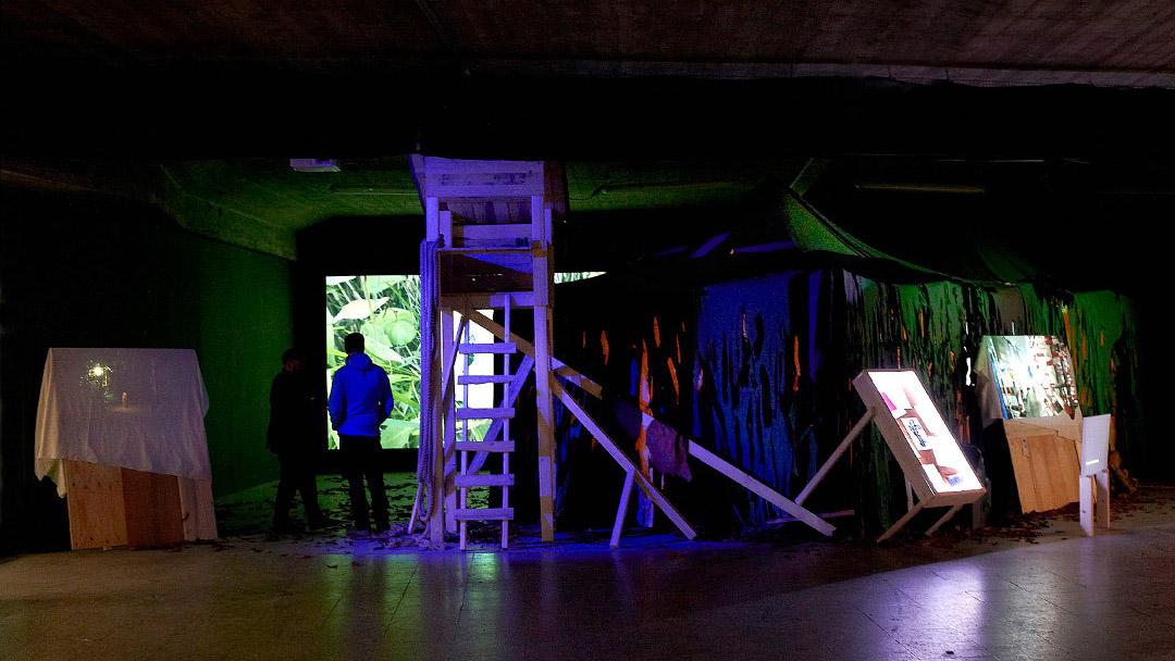 Lauschen&Lauern, installation view, ©Barbara_Hartmann