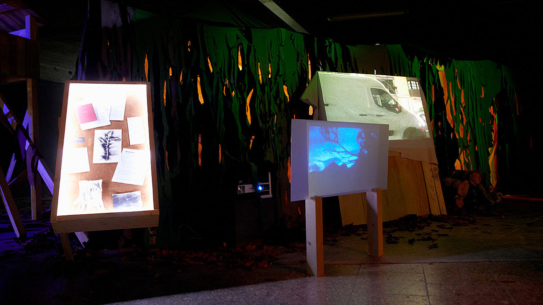 Lauschen&Lauern, installation view3, ©Barbara_Hartmann